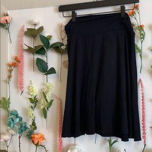 Flowy, Black, Lightweight skirt